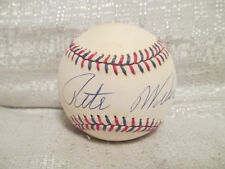 Pete Weber Signed Auto Pro Bowler PBA Hall Of Fame 1995 All Star Game Baseball