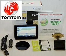 NEW TomTom PRO 7100 Truck Software GPS Set USA/Can LIFETIME MAPS fleet work car