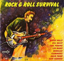 ROCK AND ROLL SURVIVAL carl perkins/flamingoes/dave gardner CPS 88 LP PS VG/EX