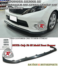 11-16 Toyota Sienna MP Style Front Lip (ABS) [SE Model Only]
