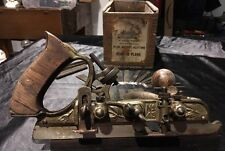 Vintage Stanley Plane 45B With Original Box And 18 Blades & Extras