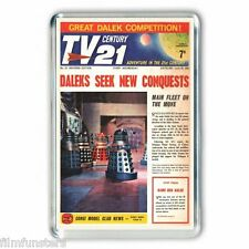 TV21 COMIC ' DALEKS ' COVER - JUMBO COLOUR Fridge Magnet