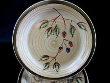 """Set of 8 Royal Norfolk Greenbrier Inter Brown Swirl Dinner Plates Chargers 12"""""""