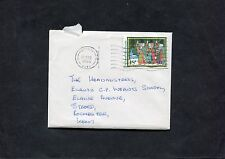 Cover - 1986 Medway Postmark with Stamp. Addressed Strood with Xmas Card.