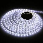 5m 500cm 3528 Cool White 300LED DC SMD Flexible Light Strip Lamp Waterproof 12V