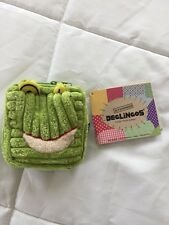 The Deglingos Treasure Pouch Coin Purse Croakos The Frog NWT