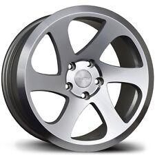 Avid1 AV50 17X8 Rim 5x100mm +35 Machined Wheels Fits Jetta Matrix Corolla Frs