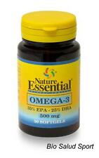 OMEGA 3 500 MG. 50 PERLAS NATURE ESSENTIAL  -    NE2278