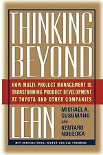 Thinking Beyond Lean : How Multi Project Management Is Transforming Produ by...