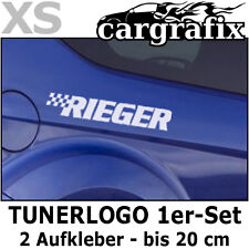 Tuner Marken Aufkleber Tunerlogo Sponsorenaufkleber Cartuning Decal Sticker Set