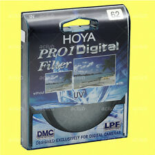 Genuine Hoya 62mm Pro1 D Pro 1 Digital UV Filter Pro1D Pro 1D DMC Multi Coated