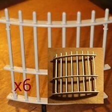 6 PIECES DETACHEES Playmobil4233 barriere cage aux fauves cirque  30 459060