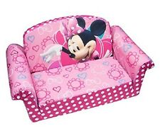 Kid Sofa Bed Flip Disney Minnie Mouse Furniture Pink Couch Play Lounger Nap New