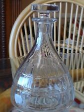 Vintage Baccarat small faceted Crystal Art Deco Carafe Decanter