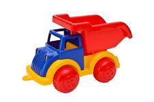 Glow2B LKW Traffic Kipper Sandkasten Spielzeug Fahrzeug 23x12x14,5 cm