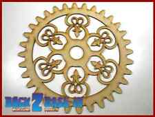 Steampunk Cogs Gears Wheel Laser Cut MDF Decorative Accessory 200mm x 3mm COG8