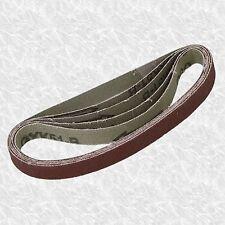 Confezione di 5 Cinture di levigatura per dito File Cintura Levigatrice 10 x 330mm prima classe Post