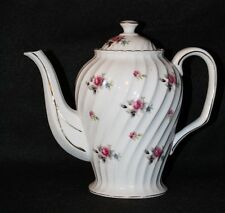 VINTAGE Royal Sealy China, Japan, Teapot with roses & gold trim