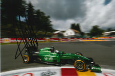 ANDRE LOTTERER CATERHAM F1 HAND SIGNED 6X4 PHOTO 10.