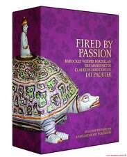 Fachbuch Wiener Barock Porzellan von Du Paquier 3 Bände NEU Fired by Passion
