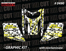 SKI-DOO REV MXZ SNOWMOBILE SLED WRAP GRAPHICS STICKER DECAL KIT 03-07 0490