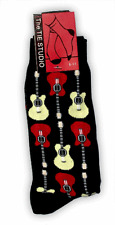 Acoustic Guitar Socks - Music Themed Gift - Gift for Music Student - Guitarist