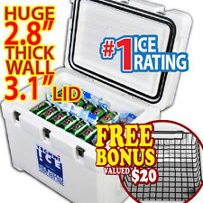 COOLER HUNTING ICE CHEST CHILLERZ BOX BIN WINE FISHING CAMPING TECHNIICE 63Qt
