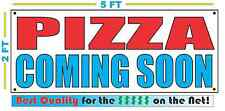 PIZZA COMING SOON Banner Sign NEW Larger Size High Quality! XXL