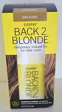 Everpro BE Back 2 BLONDE Hair Color TEMPORARY DARK BLONDE Dark ROOTS Woman New