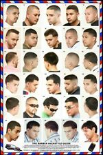 061HSM Barber Poster Mens Hairstyles