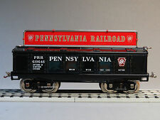 MTH LIONEL CORPORATION TINPLATE STANDARD GAUGE PRR COVERED GONDOLA CAR 11-30213