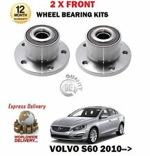PARA VOLVO S80 AS T4 T5 T6 AWD 2007   2 X EJE FRONTAL NUCLEO COJINETE RUEDA KITS