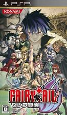 Used PSP Fairy Tail: Zelef Kakusei Japan Import