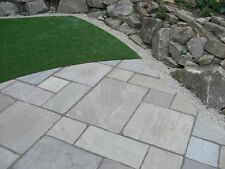 indian sandstone paving slabs kandla grey   calibrated premium grade 17£/SQM