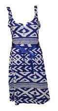 DESIGUAL schönes SOMMER Kleid blau-weiß  Gr.L=DE 38/40 Modell Vest Andrew