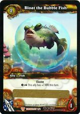 WOW Bloat the Bubble Fish LOOT CARD UNSCRATCHED NEW - WORLD OF WARCRAFT