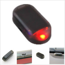 Car SUV Solar energy E-Tech Dummy Fake Flashing Caravan Security Alarm LED Light
