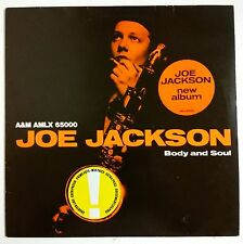 "Joe Jackson Body And Soul LP Holanda original 1984 ""sticker"" en portada"