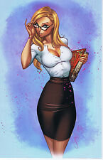 GRIMM FAIRY TALES: THE CALL OF WONDERLAND 1 BLUERAINBOW EXCL VF J SCOTT CAMPBELL