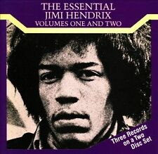 The Essential Jimi Hendrix Vols. 1 & 2 by Jimi Hendrix (CD, 1989, 2 Discs) RARE
