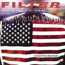 FILTER Where Do We Go From Here CD RICHARD MOREL VISSION X-ECUTIONERS DJ HYPER