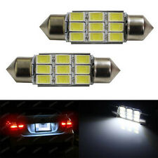 Canbus Error Free 6418 C5W LED Bulbs For Audi BMW Mercedes License Plate Lights