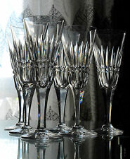 6+1 FLUTES A CHAMPAGNE BACCARAT modèle BUCKINGHAM / PICCADILLY