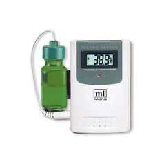 Traceable Wireless Radio-Signal Refrigerator Thermometer Additional Bottle Pr...