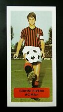 ITALIA-AC Milano-GIANNI RIVERA-punteggio UK Football commercio CARD