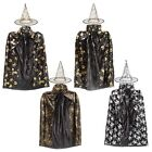 Children Kids Girl Halloween Cloak Witch Dress Fancy Dress Cosplay Party Costume
