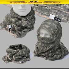 ACU Universal Camouflage Camo Army Mesh Breathable Scarf Wrap Mask Shemagh Veil