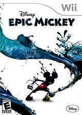Disney Epic Mickey - Nintendo  Wii Game