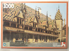 (PRL) BEAUNE BOURGOGNE PUZZLE NATHAN FRANCE 1000 GIOCO 1983 VINTAGE TOY CHILDREN