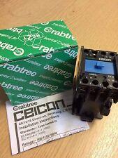 Nuevo Contactor Crabtree 44400/ZJ C13 400V/415V 1NO Aux